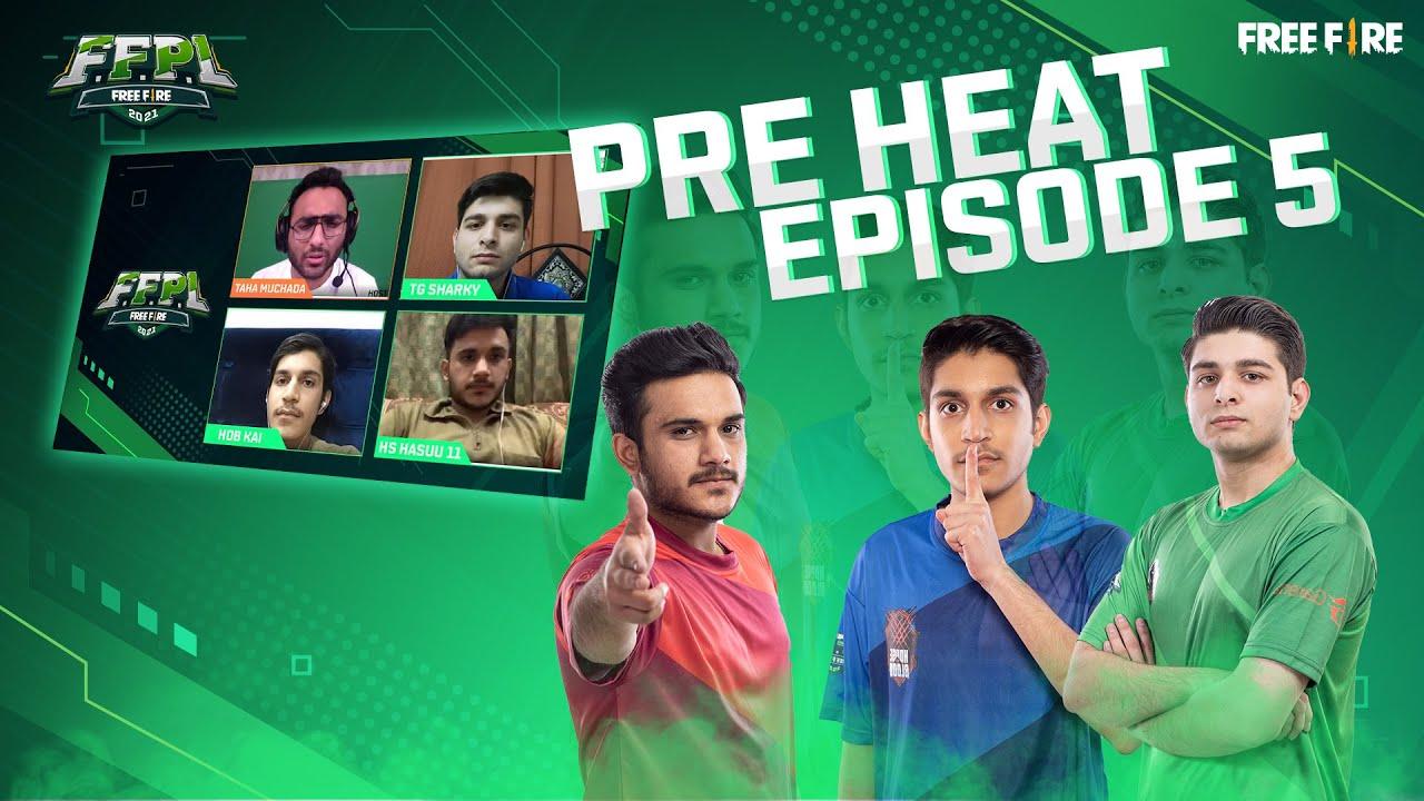 Week 5 Pre-Heat - HOB, TG and HS | FFPL - Free Fire Pakistan League 2021