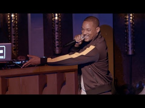 Watch Will Smith Attempt Stand-Up Comedy for the First Time!