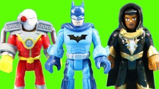 Imaginext  DC Super Friends Series 5 Surprise Toys Scuba Batman Supergirl And Unmasked Batgirl