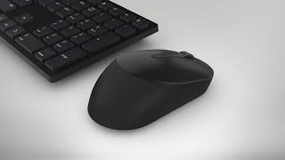 Dell KM5221W Pro Wireless Keyboard and Mouse CZ 580-AJRI KM5221WBKB-CZE