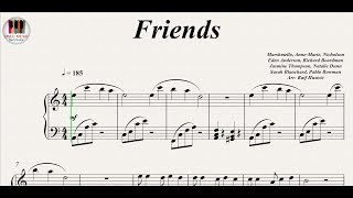 Friends - Marshmello and Anne-Marie, Piano