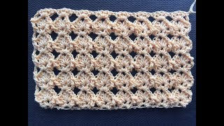 Crochet Summer Stitch Tutorial ~ Great for a Blouse, Scarf or Blanket