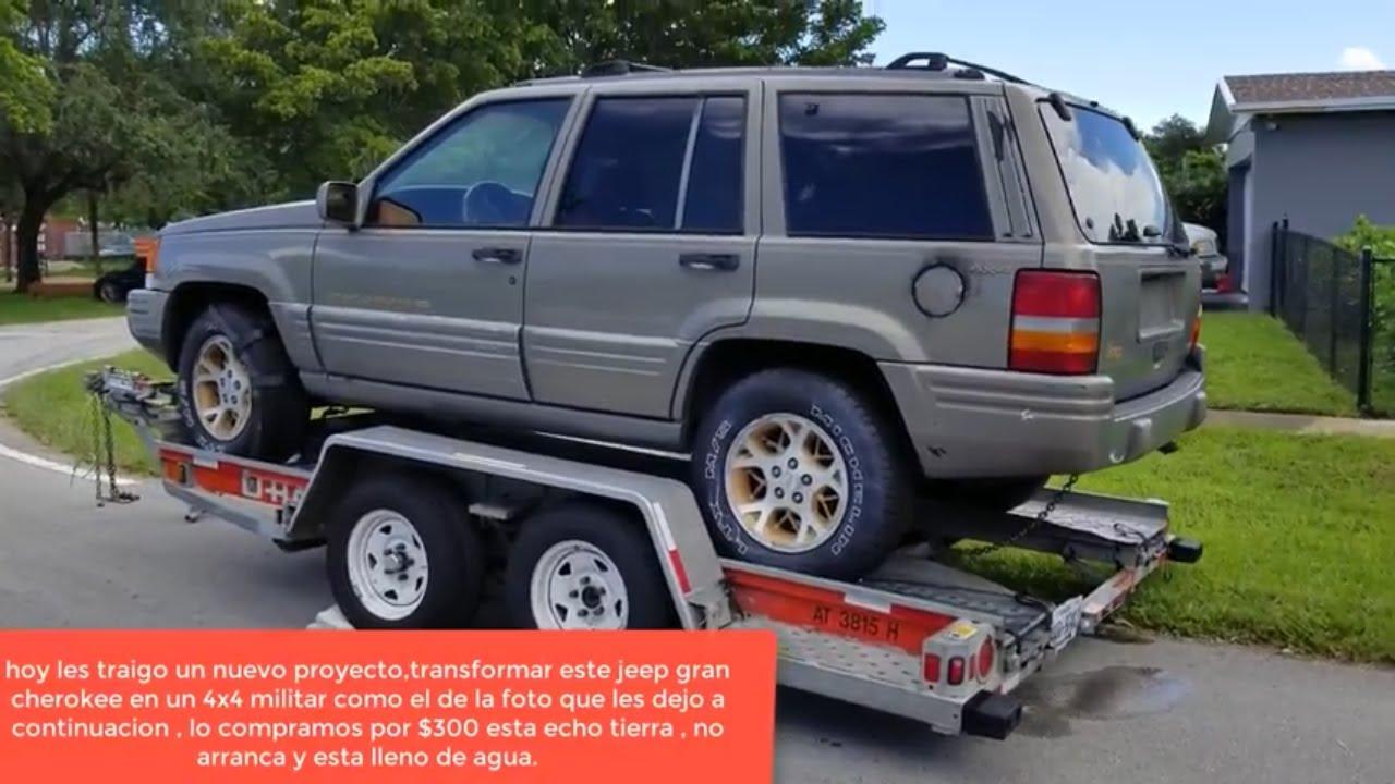 como cambiar bomba de gasolina jeep grand cherokee - youtube