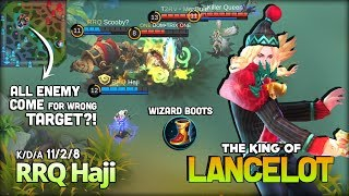 Puncture King is Back?! RRQ Haji a.k.a вeѕттacтιc The King of Lancelot ~ Mobile Legends