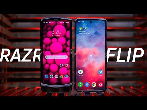 Samsung Galaxy Z Flip vs Moto Razr makes me sad 😢