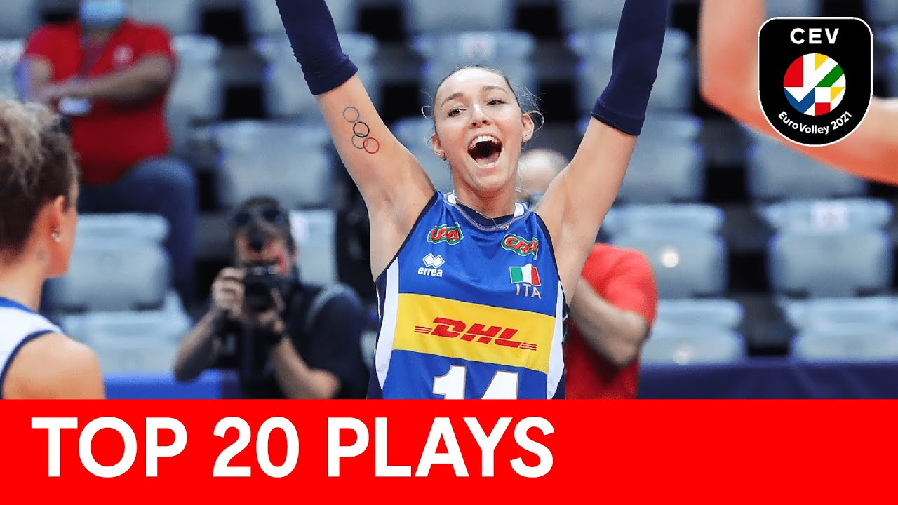 Top 20 plays of CEV EuroVolley 2021 | Women