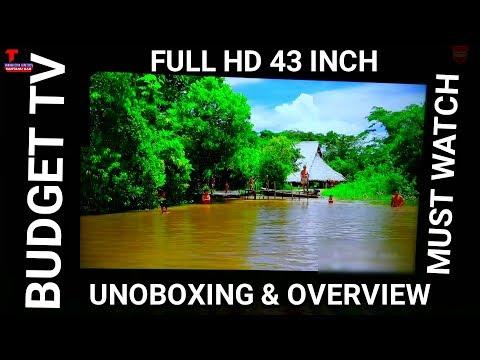 CloudWalker Spectra 109 Cm(43 Inch)Full HD LED TV | Unboxing Of Cloudwalker TV | Budget Tv