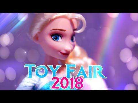 Toy Fair 2018: HASBRO Disney Princesses | Frozen | Moana | Mulan | Repunzel & More