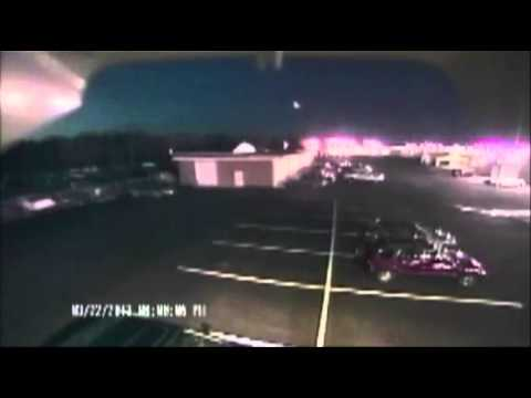 Raw: Delaware meteor lights up sky