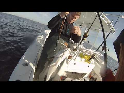 Trolling & Jigging for Striped Bass in Raritan Bay, NJ