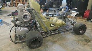 New Turbo for the Shopping Go Kart