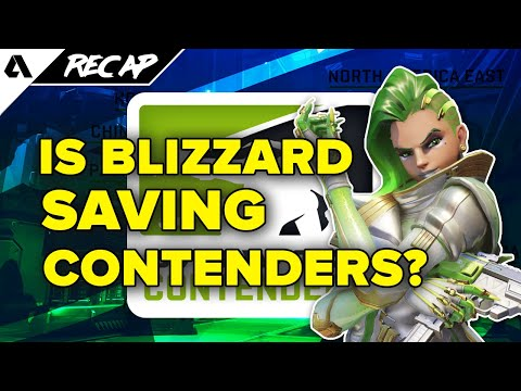 Is Blizzard Saving or Ruining Overwatch Contenders? New 2019 Format Updates | Akshon Recap thumbnail