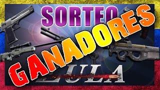 GANADORES / SORTEO 15 ARMAS [ZULA] LATINO / [GM]iAmCarlos