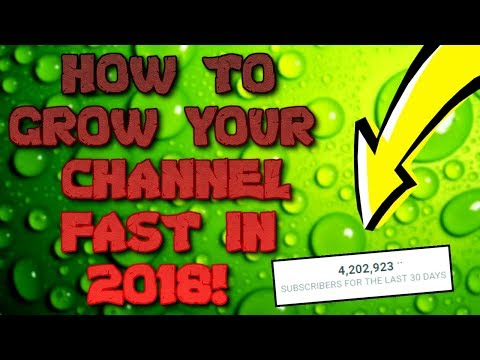 How To Grow Your Channel In 2019 - Get 1000 Subs FAST On YouTube - Do's & Don'ts When Growing FAST!