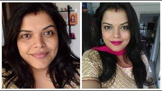 मेकअप नहीं आता ?? Very Easy Makeup Tutorial for Beginners in Hindi