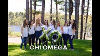 Quinnipiac University Chi Omega Recruitment 2017
