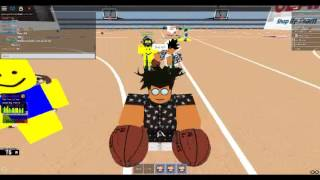 ROBLOX : How to play NBA Hoopz - The basics of crossing
