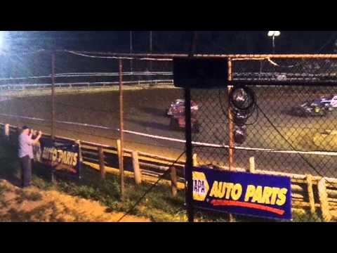 Tyler County Speedway 8/17/13 Make-up Hot Mod Feature