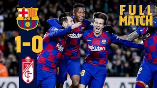Relive quique setien's debut on the barça bench back in january this season with a 1-0 granada. subscribe now:▶ https://www./user/fcbarcelon...