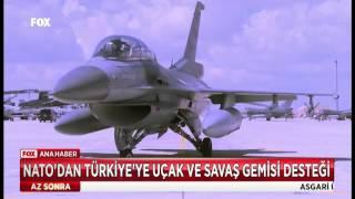NATO'dan Türkiye'ye uçak ve savaş gemisi desteği...