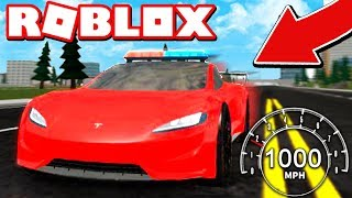 DRIVING 1,000 MPH IN A SUPERCAR! (ROBLOX VEHICLE SIMULATOR)