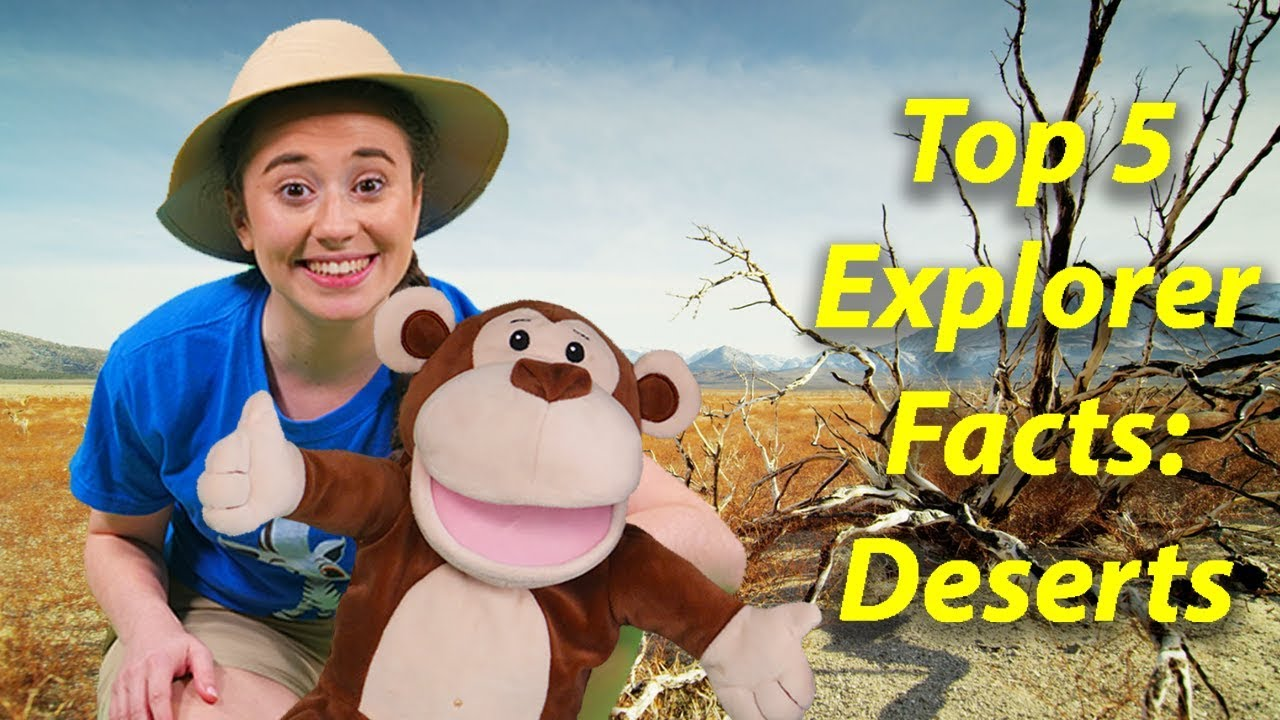 DESERTS! Ellie Learns About Deserts | Episode 8 | Animal Education Videos for Children