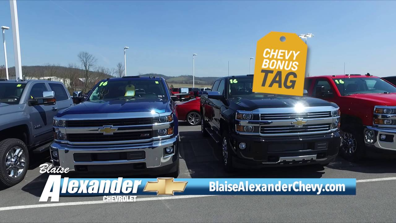 Blaise Alexander Chevy Muncy Pa >> Blaise Alexander Chevrolet In Muncy Pa Memorial Day Bonus Tag