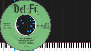 How to play La Bamba by Ritchie Valens on Piano Sheet Music