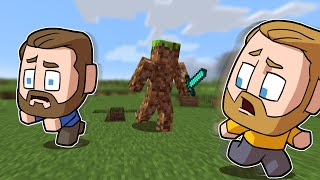 Minecraft, But Every Block Is An ENEMY!