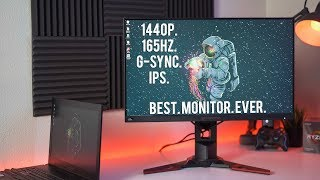 aRE 165HZ MONITORS WORTH IT?  Acer Predator xb271hu bmiprz Review & 1440p Benchmarks