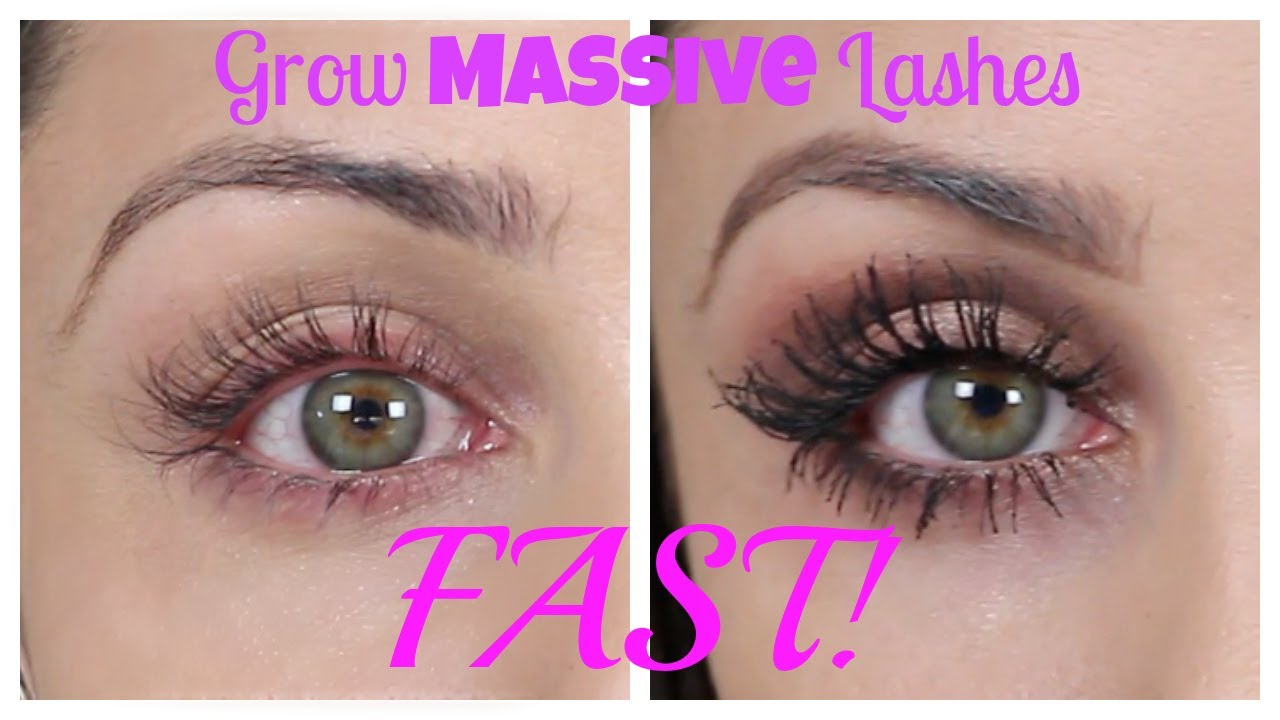 d7006a15677 How To Grow Massive Eye Lashes FAST | Kristi-Anne Beil - YouTube