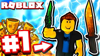 #1 PLAYER IN ROBLOX ASSASSIN