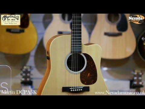 Martin DCPA5K Acoustic Guitar - Quick Look