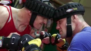 Убойная тренировка в кикбоксинге с утяжелителями Банзай