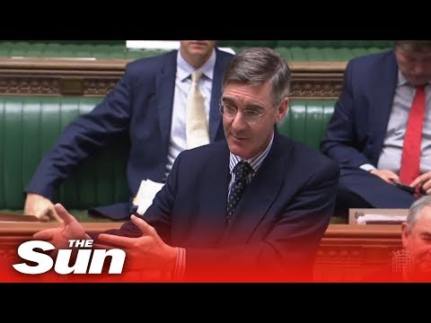 Jacob Rees-Mogg Sets Out House Business Ten Days Before Brexit | 21.10.19