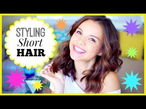 How I Style My Short Hair! thumbnail