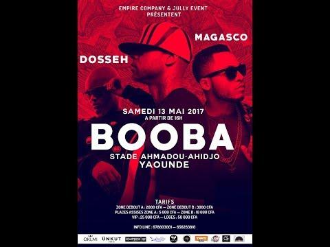 Concert Booba - Dosseh - Magasco du 13 Mai au Stade Ahmadou Ahidjo
