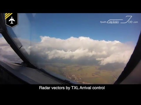 Time-lapse Flight MUC-TXL by flywithcaptainjoe
