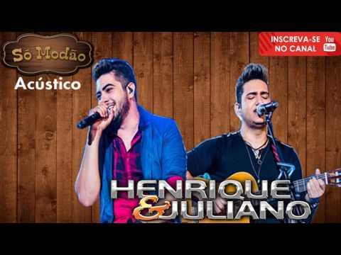 Só Modão Henrique e Juliano ao vivo no Buteco Acustico Voz e Violão Lançamento 2017