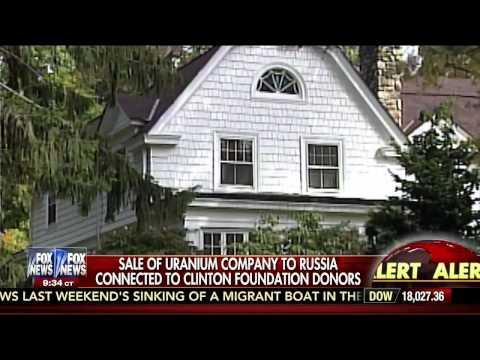 H.Clinton Bribed & Now Russia Controls Half of America's Uranium!
