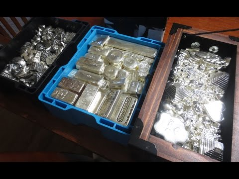 How to Store 7,000+ Ounces of Silver