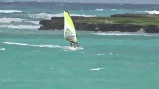 windsurfing Lanikai Beach Kailua Beach Park Kailua Bay hawaii 20151219 1128