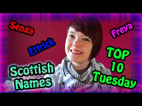 Top 10 Scottish Names