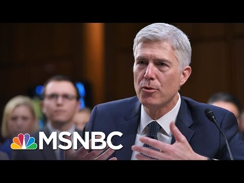 Neil Gorsuch To Hear First Case As SCOTUS Justice | Morning Joe | MSNBC