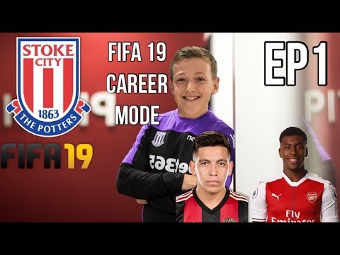 STOKE CITY FIFA 19 CAREER MODE| HVTD20 APPOINTED AND FIRST SIGNING