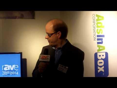 ISE 2014: AdsInABox Introduces Server-Based Advertising Technology