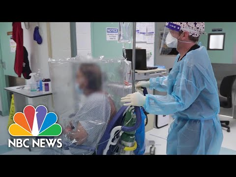Health Care Workers Describe Treating Covid-19 Patients Six Months Into Pandemic  NBC News NOW