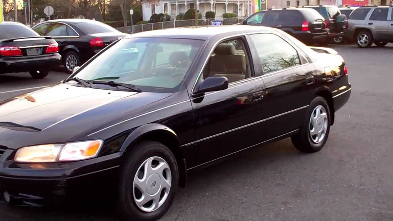 1998 toyota camry le v6 sedan 4dr 3 0l v6 at