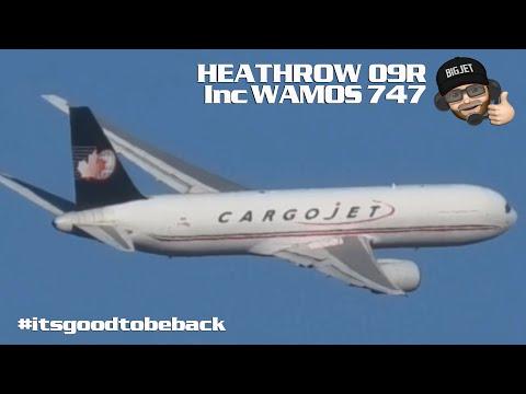 Planespotting From London #Heathrow Airport Including Wamos 747!