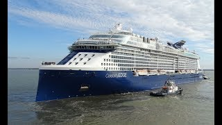 CELEBRITY EDGE   Saint Nazaire (France) - The birth of a giant